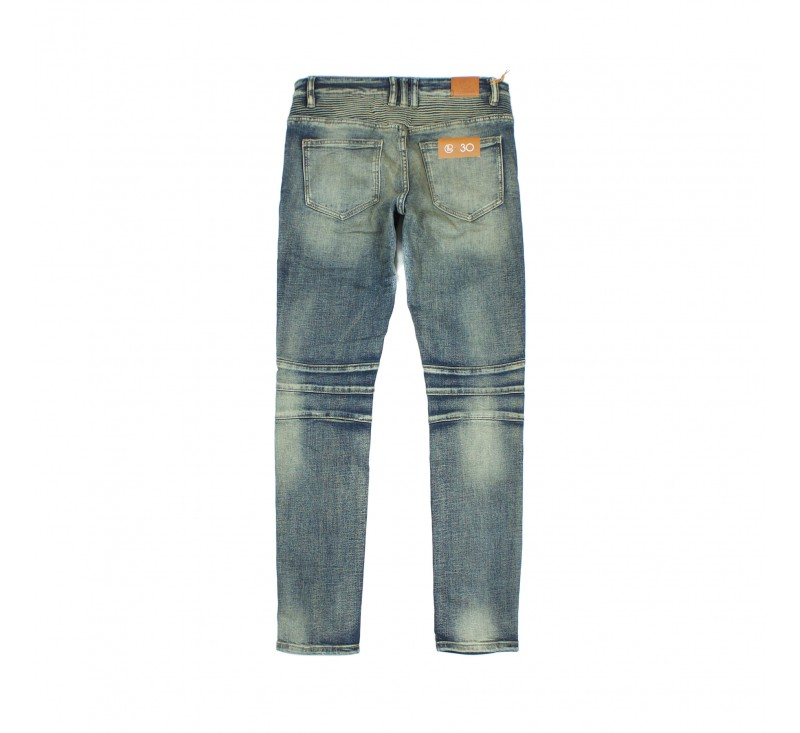 Джинсы Crysp Skywalker Indigo Dirty Wash