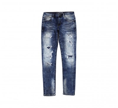 Джинсы Crysp Atlantic Indigo distressed