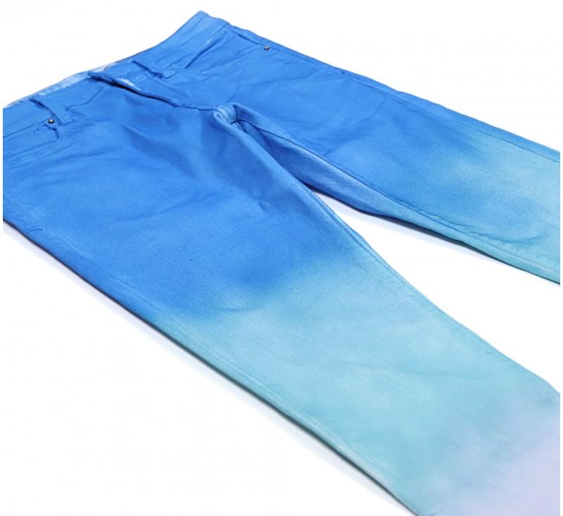 Джинсы Crysp Atlantic Purple Blue Fade