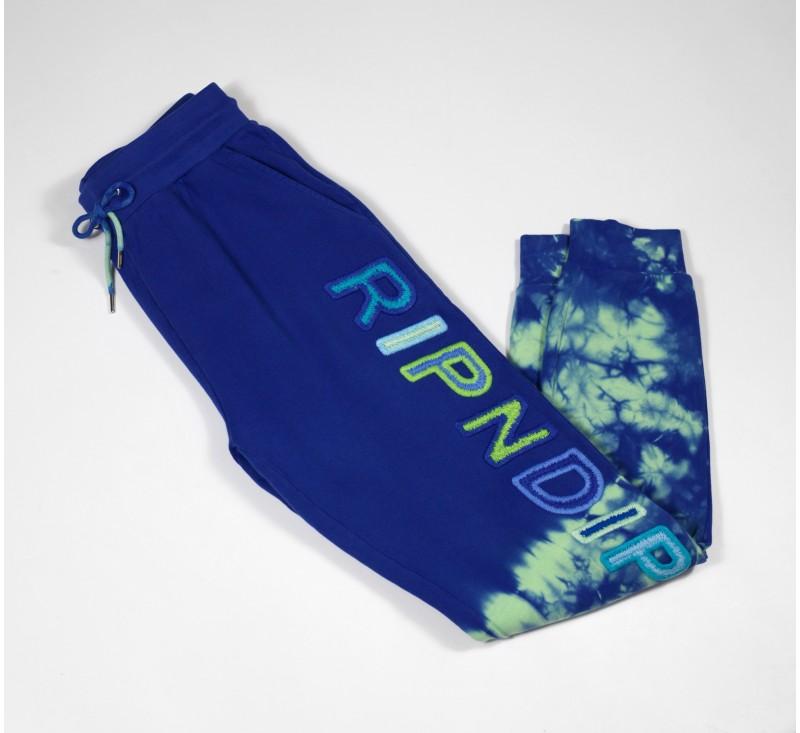 Штаны RipNDip Prisma Sweatpants Navy / Green