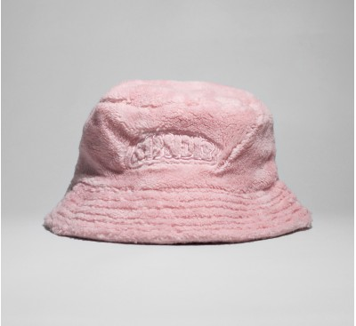 Панама RipNDip Bubble Sherpa Embroidered Art Bucket Hat Pink