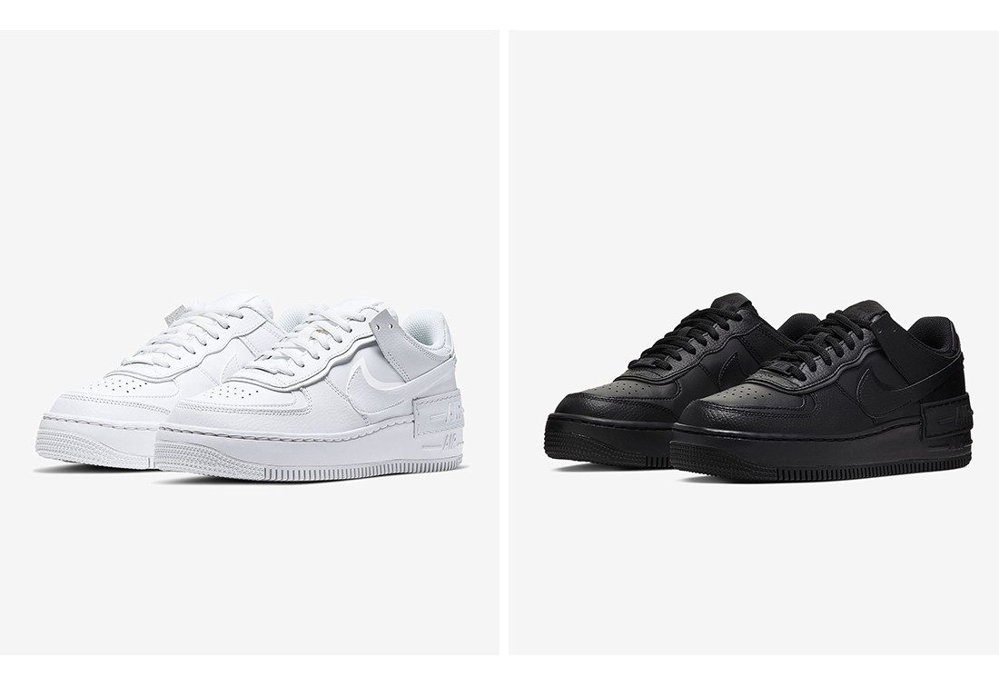 ALL FOR 1. Актуальная классика в новом силуэте - Nike Air Force 1 Shadow.