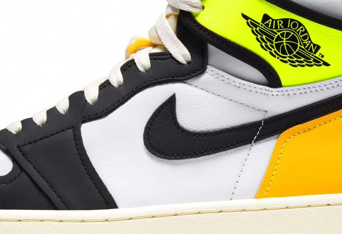 Air Jordan 1 Retro High OG «Volt Gold»
